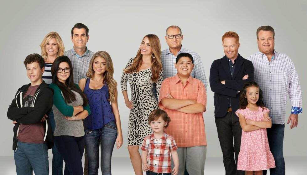 CASTEN: «Modern Family» har blitt en suksess i store deler av verden. Foto: TV 2