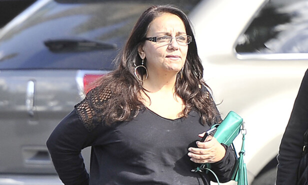 ISFRONT: Ariel Winter har ikke lenger noe som helst forhold til moren Chrystal Workman Foto: Splash News