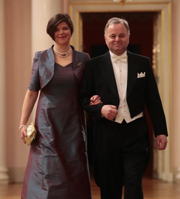 Stortingspresident Olemic Thommessen (H) og kona Nina Thommessen.