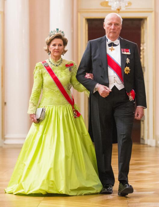 Jubilantene kong Harald og dronning Sonja.