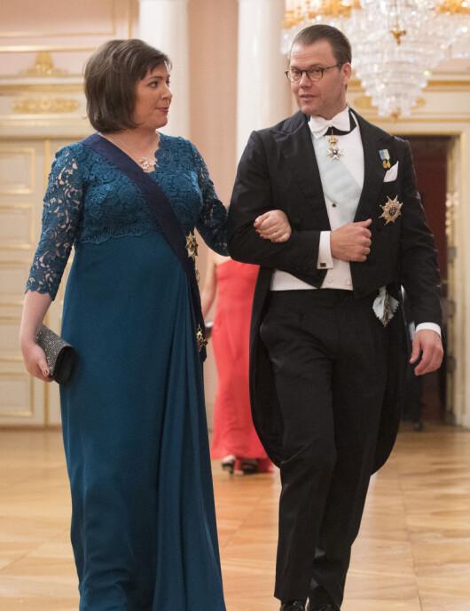 Prins Daniel av Sverige og Islands presidentfrue Eliza Reid.
