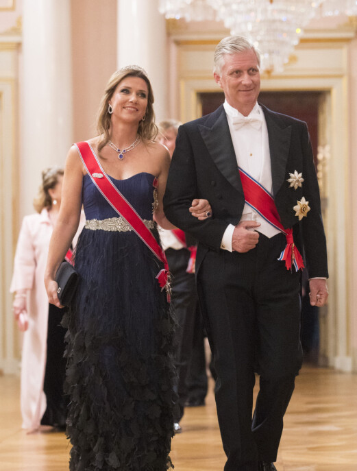 Kong Philippe av Belgia og prinsesse Märtha Louise.