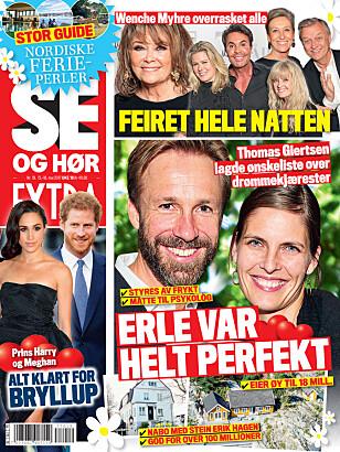 <strong>I SALG NÅ:</strong> I nyeste nummer av Se og Hør kan du lese mer om Olivia Newton-John. Faksimile: Se og Hør