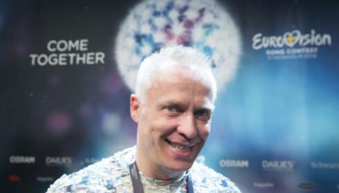 MGP-PRESIDENT: Morten Thomassen er leder for den norske Melodi Grand Prix-klubben. Foto: NTB scanpix