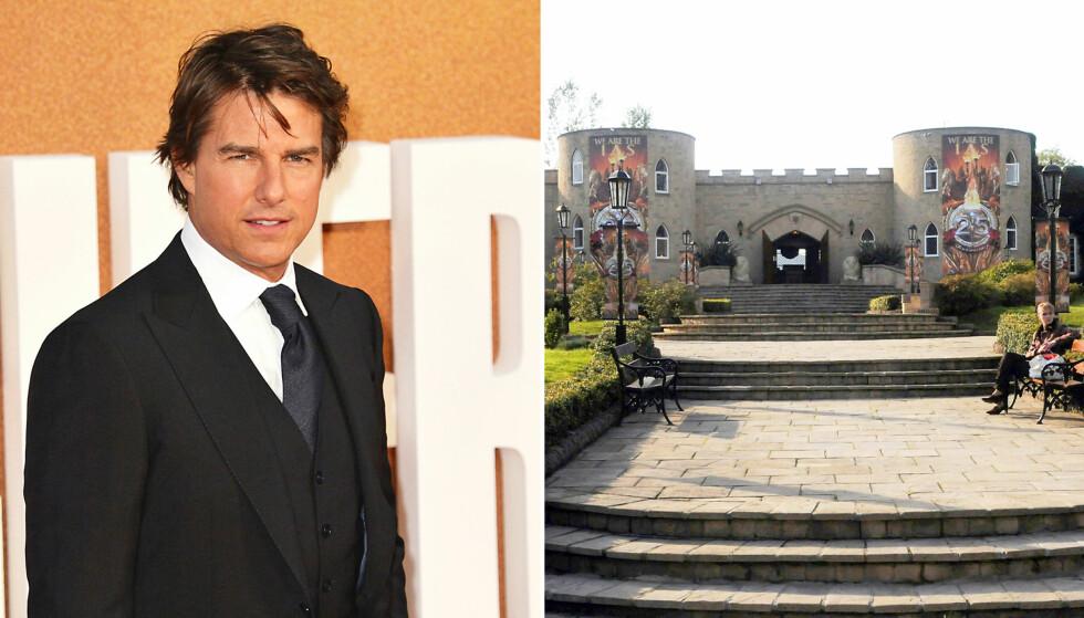 <strong>PREDIKANT:</strong> Tom Cruise er Scientologikirkens fremste profil, og bruker kjendisstatusen til å predikere den omstridte kulturens fortreffelighet. Foto: NTB scanpix