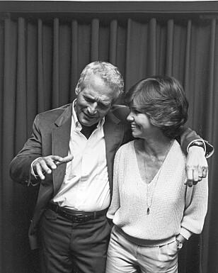 <strong>POPULÆR:</strong> Sally Field sammen med Paul Newman i 1980. Foto: NTB Scanpix