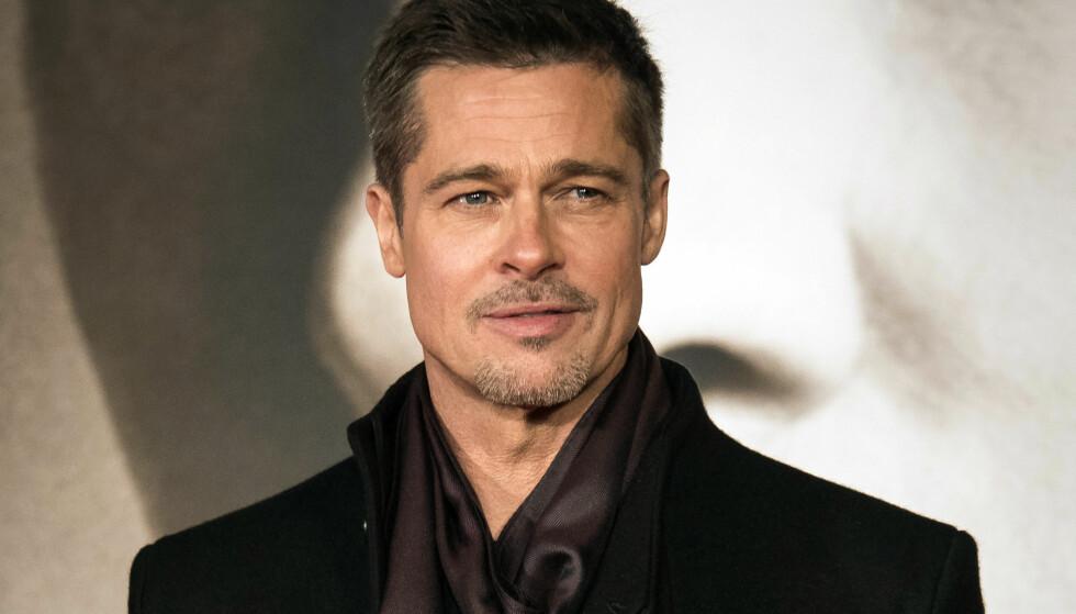 HEMMELIGHETSFULL: Brad Pitt snakker sjeldent om barna eller skilsmissen, men i et nytt intervju med nyhetsbyrået AP forteller han om hvordan han betrakter barna nå i etterkant. Foto: NTB Scanpix
