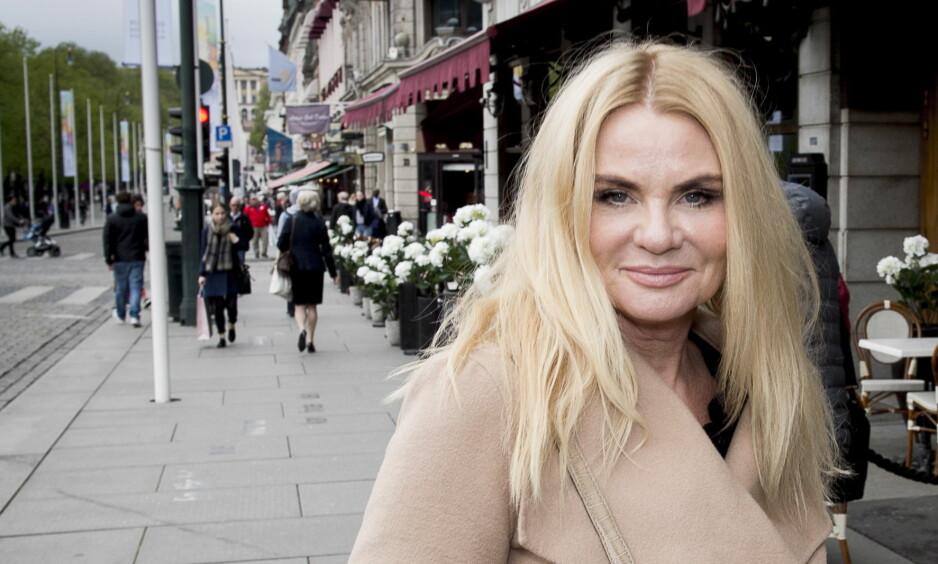 LYKKELIG: Mia Gundersen (55) sier hun har funnet tilbake til gleden etter skilsmissen. Foto: NTB Scanpix