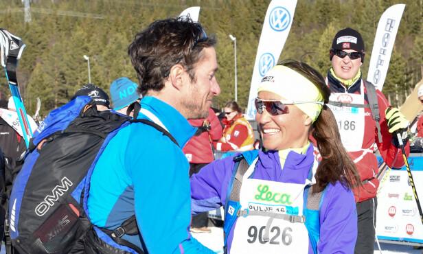 <strong>FRILUFT:</strong> Pippa og James besøkte Norge i 2016, der de deltok i Birkebeiner-rennet på Lillehammer. Begge gjennomførte på nærmere seks timer. Foto: NTB Scanpix