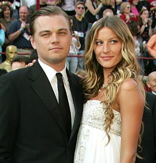 STJERNEPAR: Leonardo DiCaprio og Gisele Bündchen var sammen i fem år. Foto: NTB scanpix