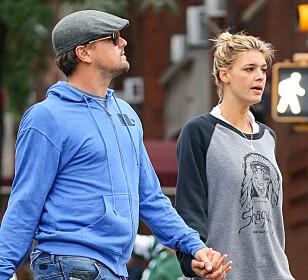 KORTVARIG FORHOLD: Leonardo DiCaprio og vakre Kelly Rohrbach var bare sammen i et halvt år. Foto: NTB scanpix