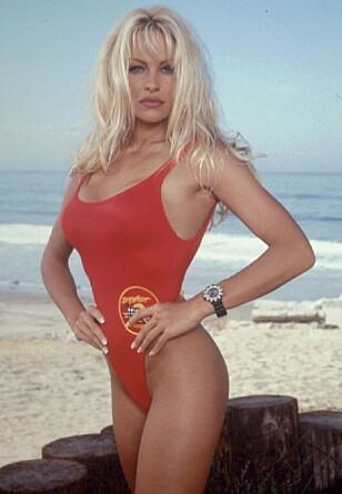 BERØMT BLONDINE: Pamela Anderson ble verdensberømt gjennom sin rolle i TV-serien «Baywatch». Foto: NTB Scanpix