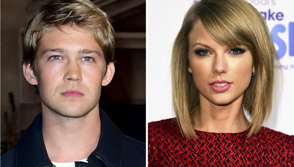 HOLDT EN LAV PROFIL: Taylor Swift og skuespiller Joe Alwyn skal angivelig ha datet i mange måneder. Foto: NTB Scanpix