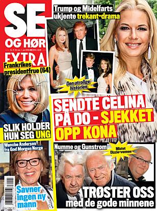 I SALG NÅ: I nyeste nummer av Se og Hør kan du lese mer om Petter Northug og Else Kåss Furuseth. Faksimile: Se og Hør