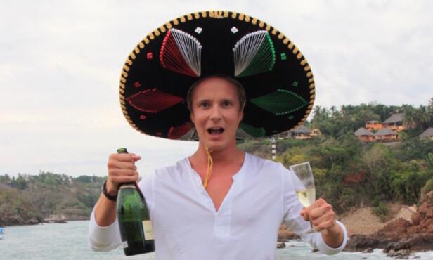 FØRSTE SESONG: Petter Pilgaard stakk av med seieren i første sesong av «Paradise Hotel». Seieren delte han med partneren, Benedicte Valen. Foto: Sølve Hindhamar / Seoghør.no