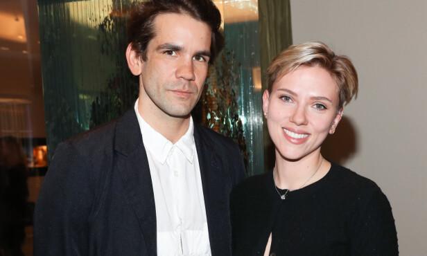 SEPARERT: Forholdet til Scarlett og Romain holdt i nesten fem år. Foto: NTB Scanpix