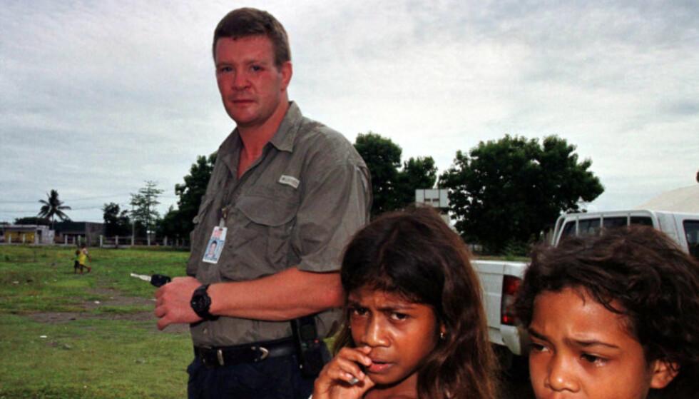TILBAKETRUKKET LIV: Trevor Rees-Jones har ikke gitt intervjuer på årevis. Her er han avbildet i 2001. Foto: AP Photo/Firdia Lisnawati)