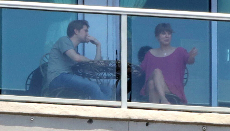 DATET I NOEN MÅNEDER: Duoen har holdt en lav profil siden de begynte å date, og har sjelden dukket opp sammen i offentligheten. Foto: NTB Scanpix