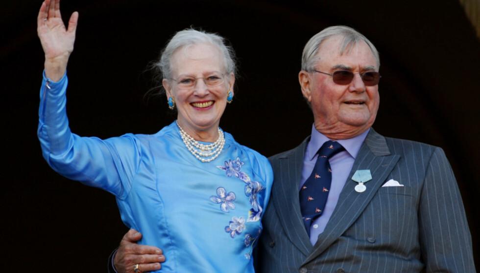 GULLBRYLLUP: 10. Juni feirer dronning Margrethe og prins Henrik gullbryllup, men feiringen vil foregå privat. Foto: NTB scanpix