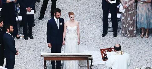 Samlet kjendiser til hemmelig bryllup i Italia