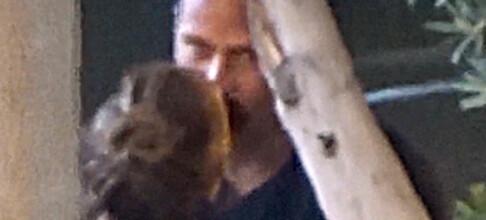 J-Lo kysset sin nye kjæreste i skjul