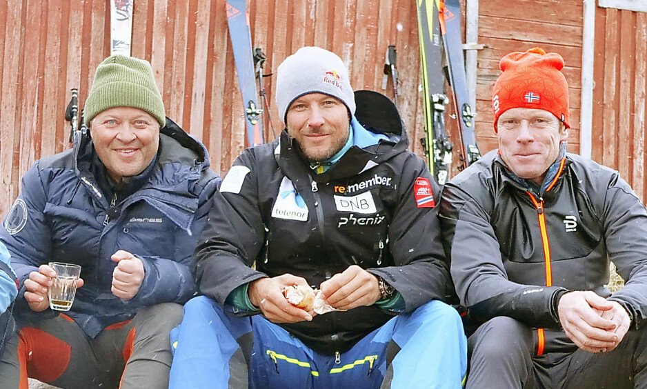 NYE EVENTYR: Aksel Lund Svindal drar med Arne Hjeltnes (t.v) og Bjørn Dæhlie i de ny «Gutta på tur»-episodene som kommer på TV 2 til høsten. Foto: TV 2