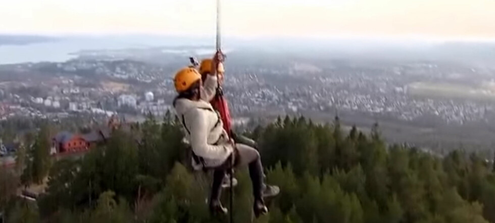 Her flørter «Ungkarskvinnen» i line over Oslo