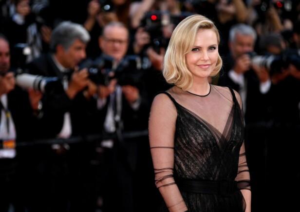 OSCAR: Charlize Theron under Oscar-utdelingen i 2017. Foto: NTB Scanpix