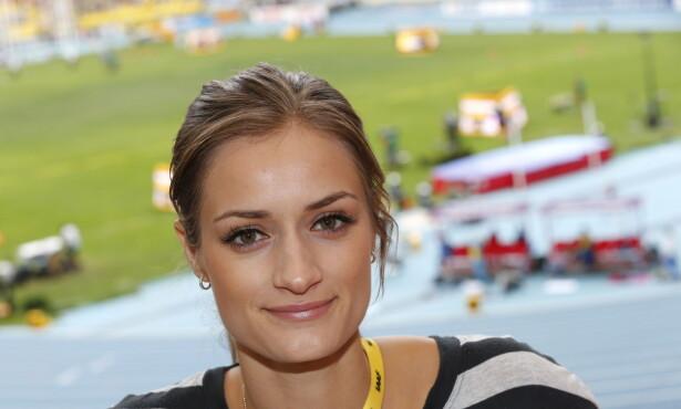 OPPGITT: Tidligere hekkeløper Christina Vukicevic Demidov er blant dem som vil få bort fokuset på kropp etter fødsel. Foto: Lise Åserud / NTB scanpix