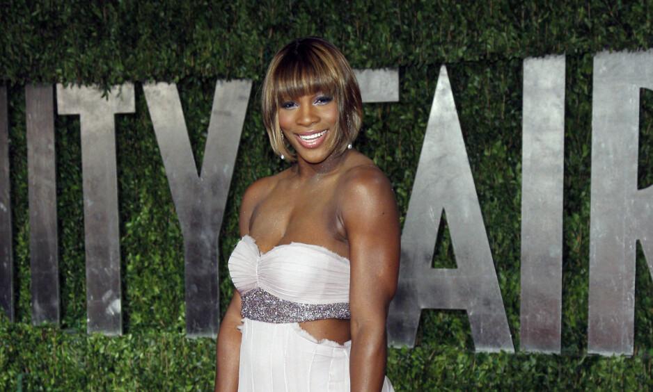 INVOLVERT I ULYKKE: Venus Williams var i begynnelsen på juni involvert i en bilulykke som førte til dødsfall. Her er hun fotografert på Vanity Fairs Oscar-fest for noen år siden. Foto: NTB scanpix