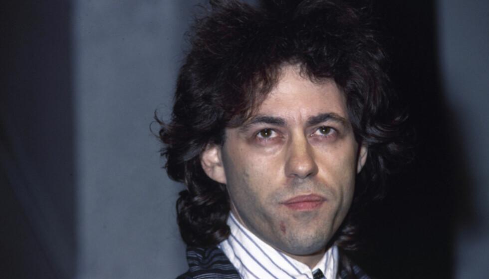 SLIPPER IKKE UNNA: Bob Geldof er lei av å høre hitlåta si i butikken. Foto: NTB Scanpix