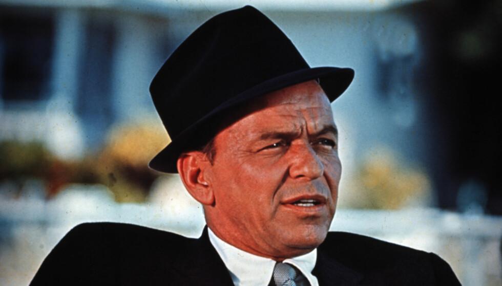 STOR HIT: Frank Sinatra hatet sin egen låt og sa det ofte til publikum, til tross for at det var en av hans mest populære sanger. Foto: NTB Scanpix