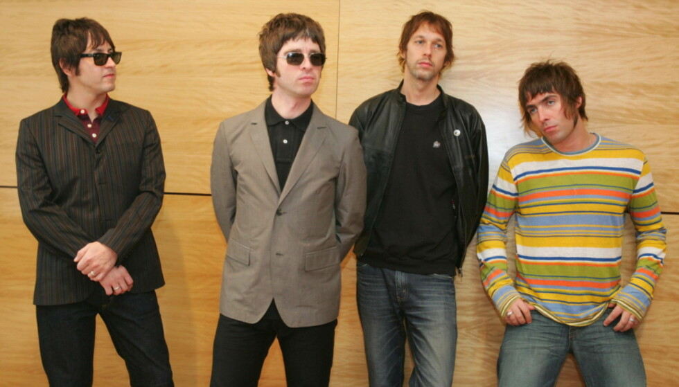 VIL SPY: Vokalist Liam Gallagher kan ikke fordra «Wonderwall». Foto: NTB Scanpix