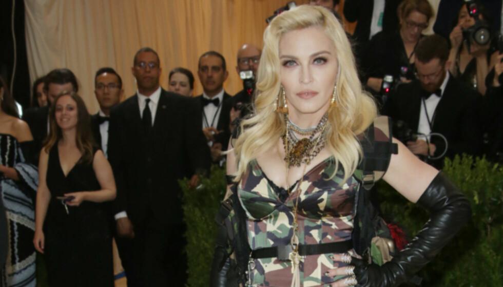 BLIR SPILT OVERALT: Madonna vil ikke høre «Like A Virgin» offentlig. Foto: NTB Scanpix