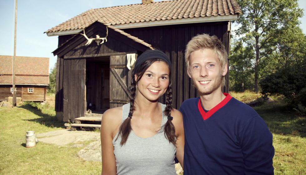 TV-ROMANSE: Silje Hvarnes ble første kvinnelige vinner av Farmen - og kapret deretter hjertet til program- lederen. Foto: TV 2