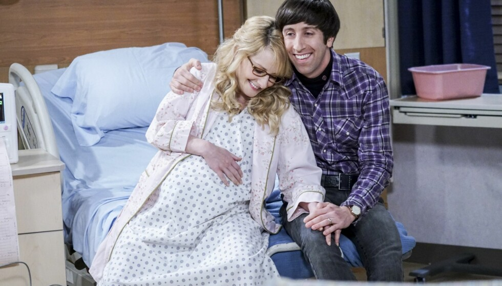 SPONTANABORTERTE: I et lengre gjesteinnlegg på nettsiden Glamour åpner «The Big Bang Theory»-stjerna Melissa Rauch opp om spontanaborten. Her er hun i en scene fra serien. Foto: TVNorge
