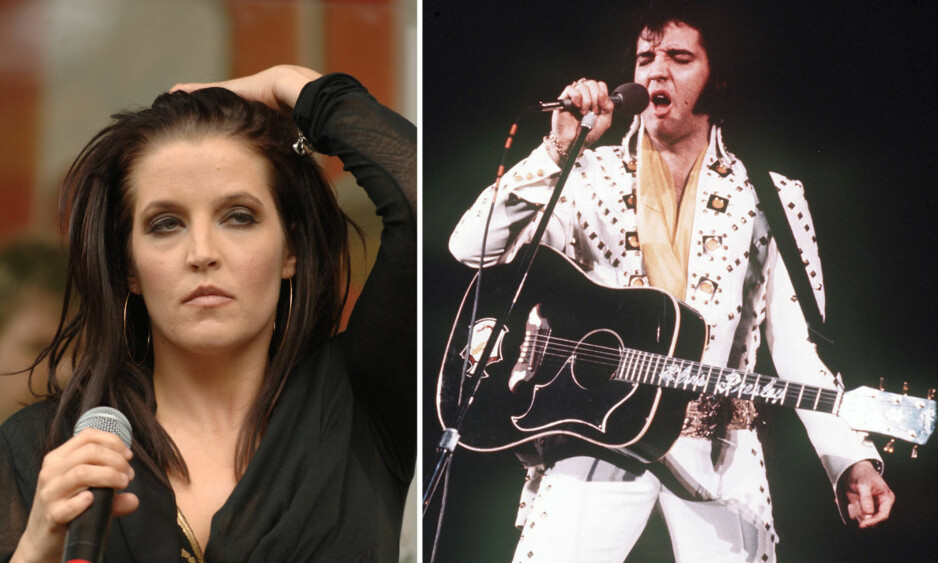 I TRØBBEL: Lisa Marie vil ikke gå samme retningen som pappa Elvis Presley. Foto: NTB Scanpix