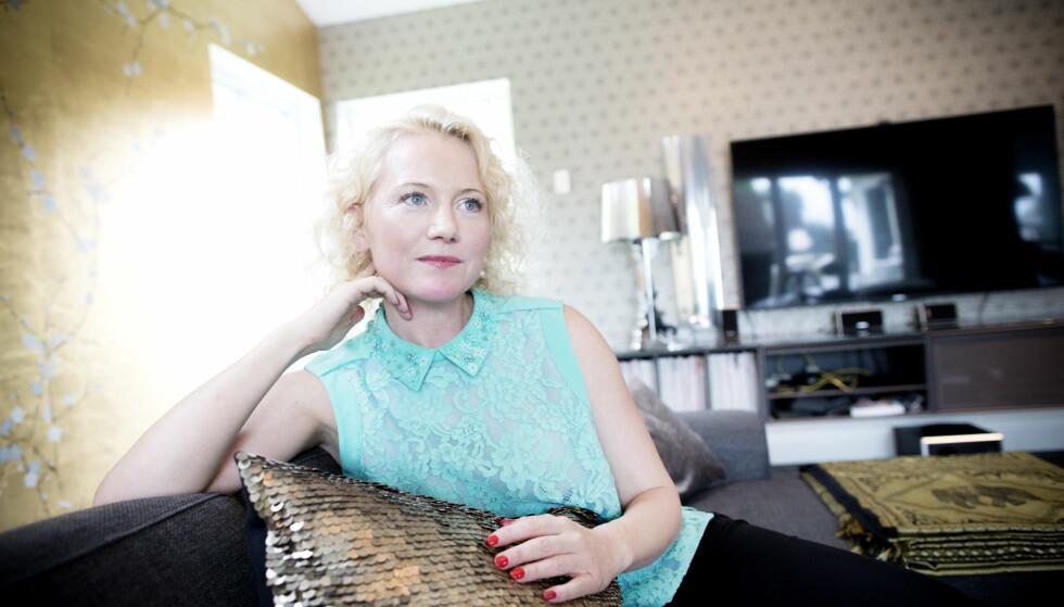 TAKKNEMLIG: Hedda Kise (44) er selv svært engasjert i kreftsaken, og mener Thea Steen la ned et enormt arbeid når det gjelder å rette oppmerksomheten mot livmorhalskreft. Foto: Tomm W. Christiansen / Dagbladet