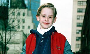 <strong>BARNESTJERNE:</strong> Macaulay fikk rollen som Kevin McCallister da han bare var 10 år gammel. Foto: NTB Scanpix