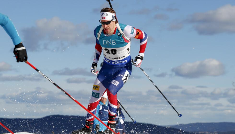 SUKSESS: Samantha Skogrand og Emil Hegle Svendsen legger alt til rette for Emils skiskytterkarriere. Foto: NTB Scanpix