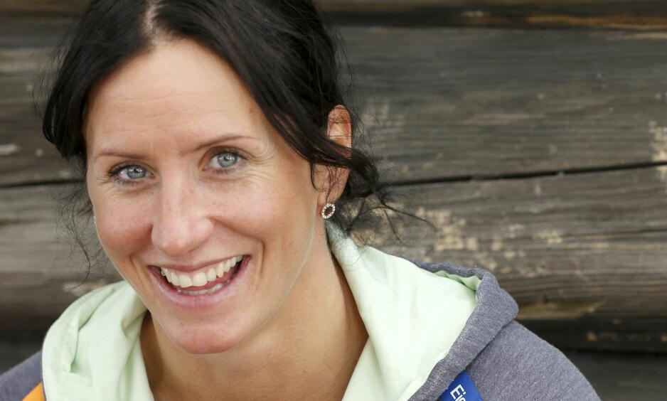 <strong>FULL FART:</strong> Marit Bjørgen forteller om hvordan småbarnslivet påvirker sommerferien i et nytt intervju. Foto: NTB Scanpix