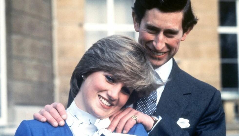 NYGIFTE: Diana og Charles var gift i fem år før forholdet begynte å slå sprekker. Foto: NTB Scanpix
