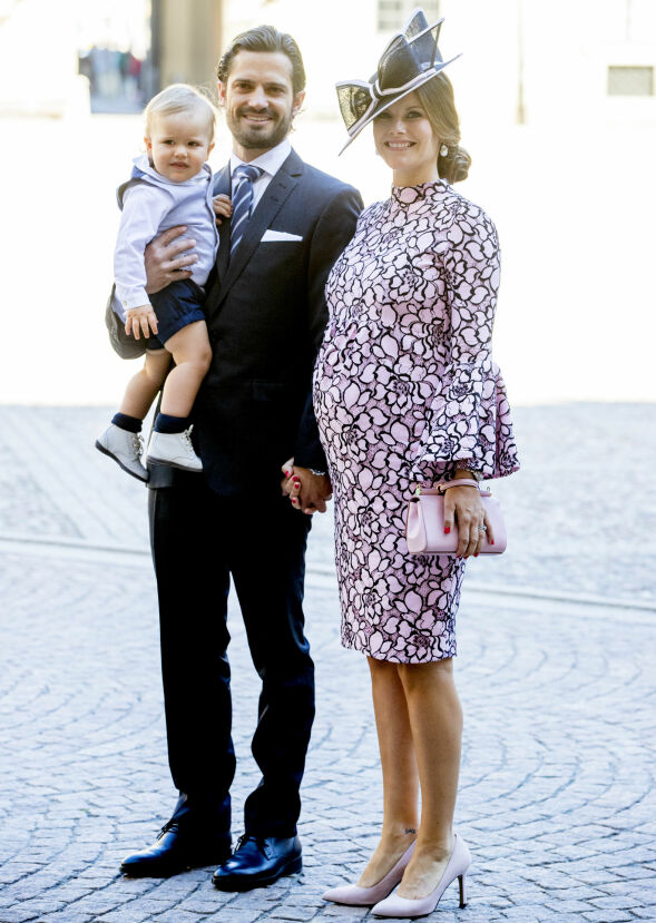 ÉN MÅNED: Prins Alexander kom til verden 19. april 2016, 312 dager etter bryllupet til prins Carl Philip og prinsesse Sofia. Her avbildet i 2017, mens Sofia gikk gravid med prins Gabriel. Foto: NTB scanpix