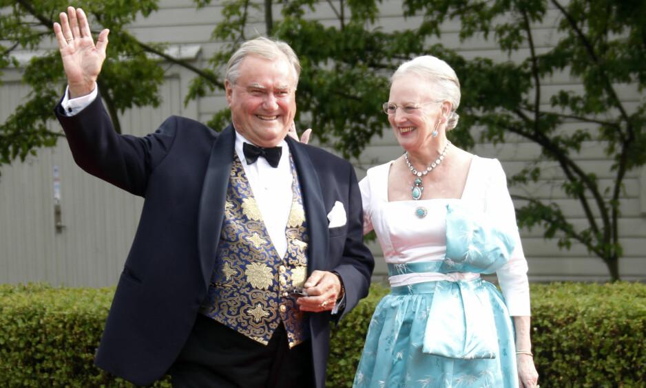 <strong>SETTER FOTEN NED:</strong> Prins Henrik vil ikke begraves ved siden av sin kone som planlagt. Han føler seg nemlig ikke likeverdig behandlet. Foto: NTB Scanpix
