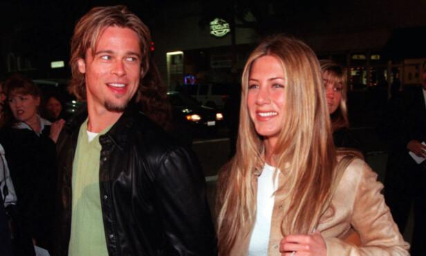 VAR UTRO: Brad og Jennifer var et av Hollywoods heteste par i starten av 2000-tallet. Men så var han utro med Angelina Jolie, og resten er historie. Foto: NTB Scanpix