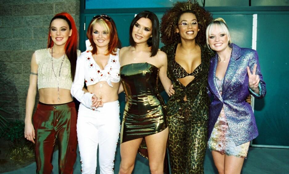 VERDENSSTJERNER: Spice Girls ble raskt en verdenskjent popgruppe. Mange fans fikk hjertesorg da de valgte å gå hver til sitt. Nå står imidlertid nye prosjekter på trappene. Foto: NTB Scanpix