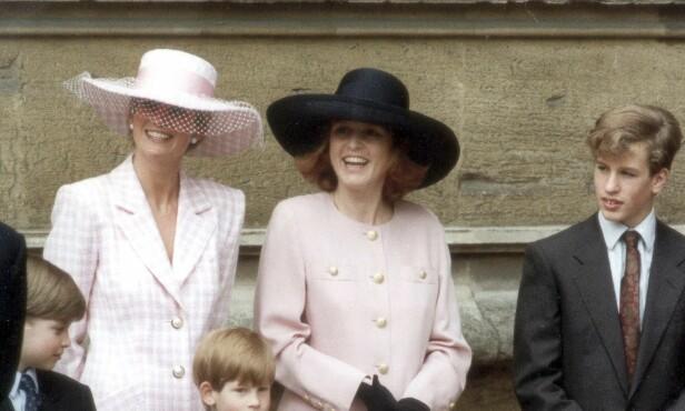 HAVNET I SKYGGEN: Sarah prøvde å få bulimi, så hun kunne bli like slank som svigerinnen Diana. Foto: REX