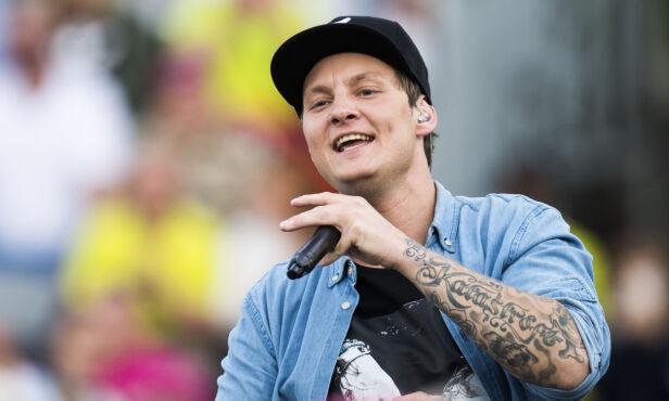 HERJER: Petter «Katastrofe» Kristiansen (29) har i løpet av sin relativt korte karriere så langt gitt ut en rekke låter som har nådd gode plasseringer på hitlistene. Foto: Jon Olav Nesvold / NTB scanpix
