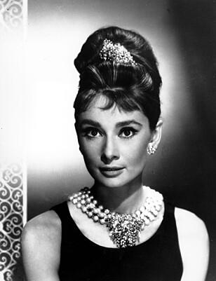 SUPERSTJERNE: Audrey Hepburn var en av verdens største filmstjerner på 1950- og 60-tallet. Foto: NTB Scanpix