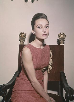 FOTOGEN: Audrey i Roma 1960. Foto: NTB Scanpix